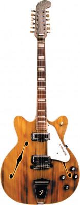 Busco Fender Coronado XII o Rickenbacker 330/12