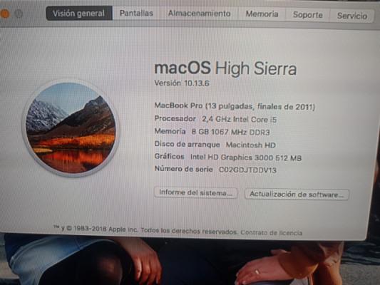 MacBook pŕo 13' 2011 por korg triton classic 61