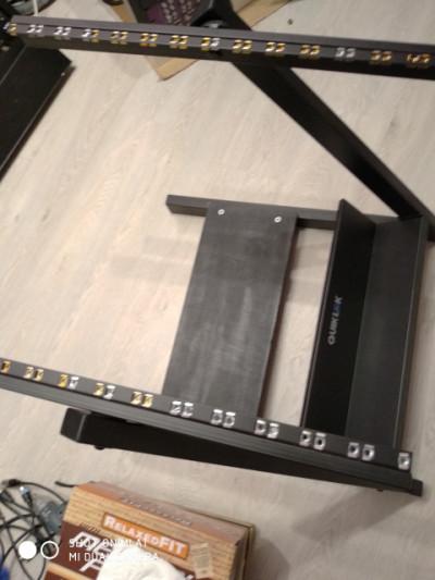 Estructura rack 14U Quicklock
