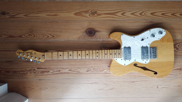 Fender Telecaster Thinline 2000's Natural Wood