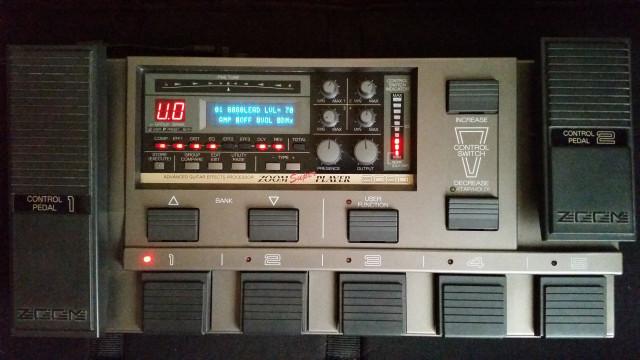 Pedalera  Multiefectos ZOOM SUPERPLAYER 8080