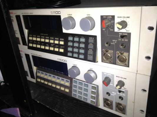 Sampler AKAI S1100 + S1000