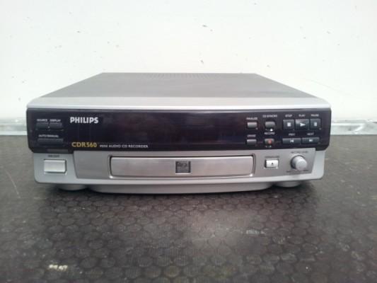 Grabadora de cds Philips