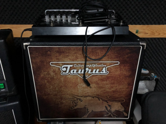 Taurus Stomp Head 4 HG High Gain + pantalla 1x12 taurus RESERVADO