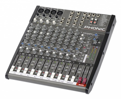Vendo mesa de mezclas Phonic AM442D USB