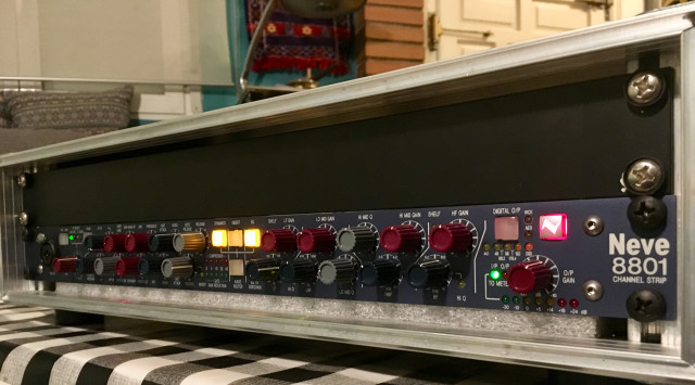 NEVE 8801 channel strip REBAJADO! (PRE COMP/GATE EQ)