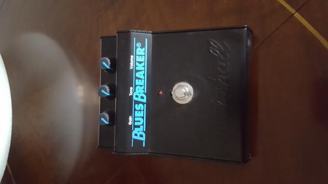 Pedal Marshall Bluesbreaker mk1 (clásico)