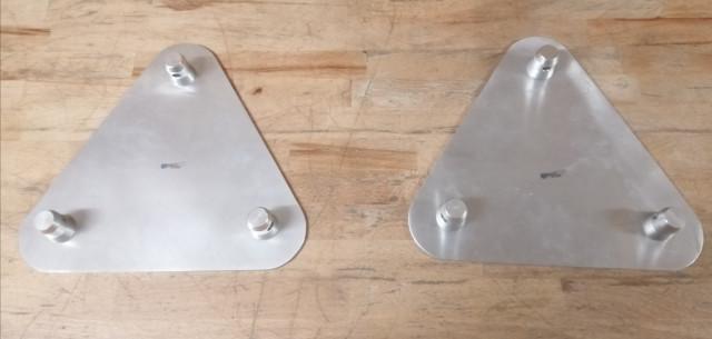 Plataformas GlobalTruss Triangular 240mm