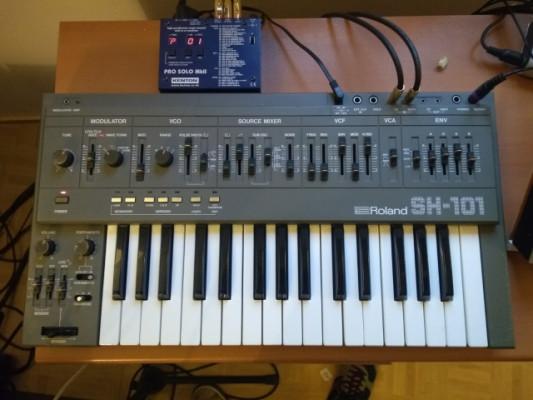 Sh101+Kenton Pro Solo Mk2