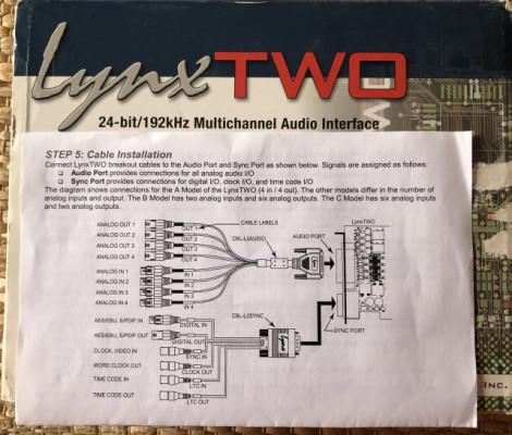 Tarjeta de sonido Lynx Two C