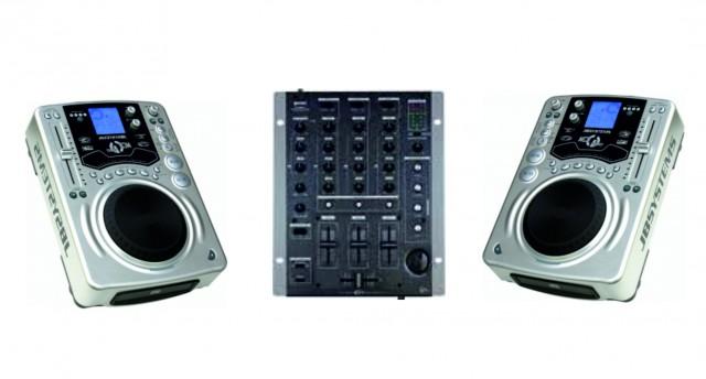 REPRODUCTORES CD - MESA DJ GEMIN