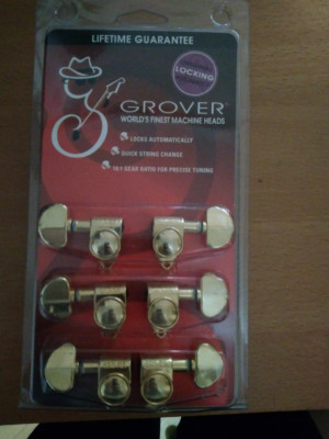 Clavijas Grover Rotomatic locking doradas