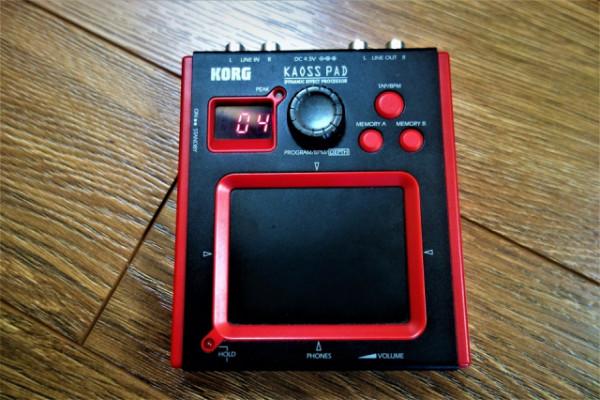 Korg Mini-KP (mini Kaoss Pad)