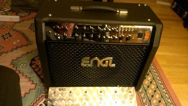 Combo Engl Sovereign 112 E 365 (Modelo Nuevo) 10/10 + Pedalera de control Z-9