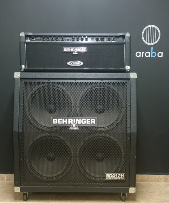 Cabezal y Bafle Guitarra Behringer GMX1200H