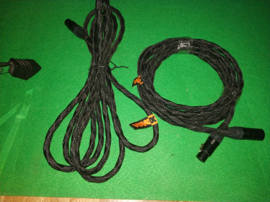 2 cables de microfono vovox profesionales(RESERVADO)