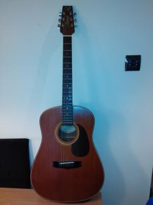 cambio guitarra acústica por guitarra eléctrica o material