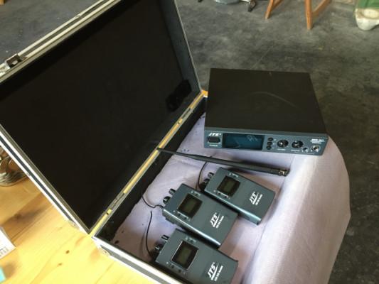 Sistema monitoreo  inalámbrico JTS