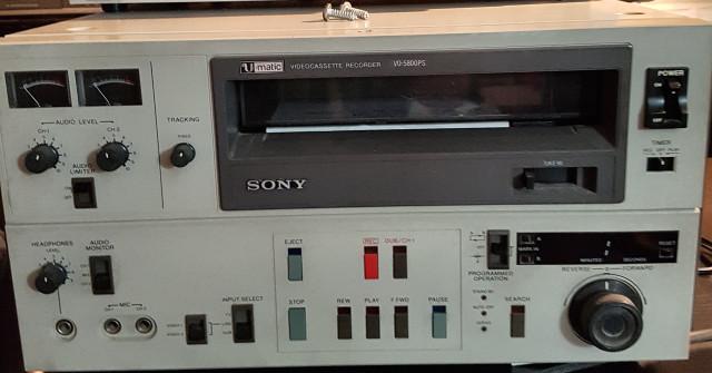 Magnetofono Sony