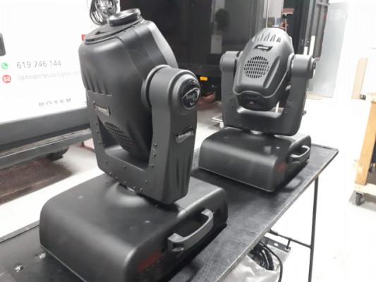 RESERVADOS Vendo 2 cabezas moviles triton blue mini spot 250