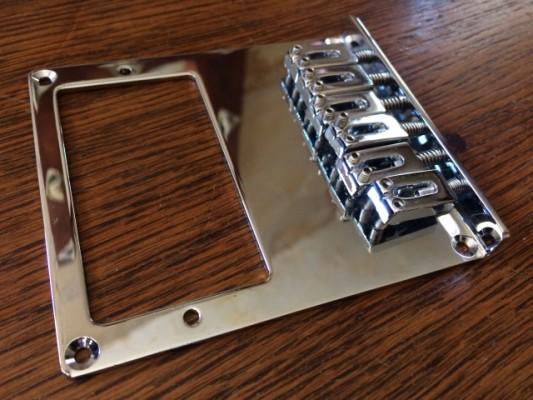 Puente telecaster para humbucker sin instalar. Nuevo