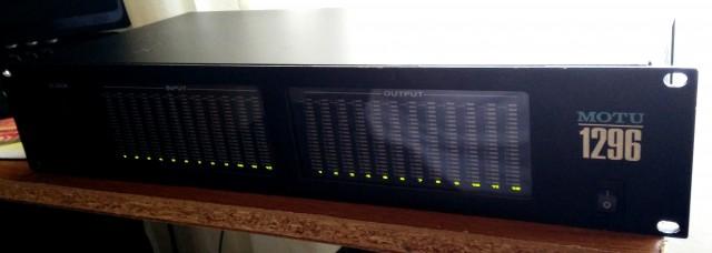 Motu 1296 + PCI 324