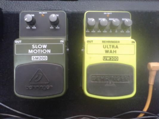 Cambio o vendo Behringer SM200 y UltraWah UW300