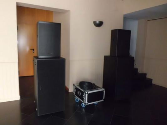 Sistema Completo de Sonido Fame MT + Amplificación (OCASIÓN)