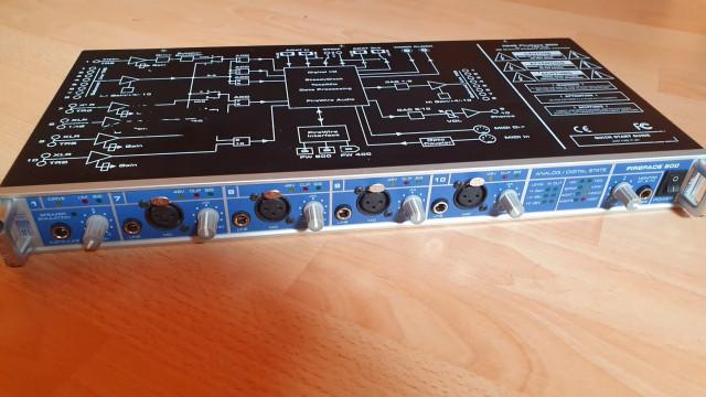 RME Fireface 800 recién revisada por técnico