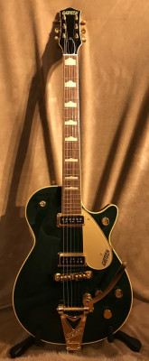 GRETSCH G6128TCG DUO JET 2014 CADILLAC GREEN
