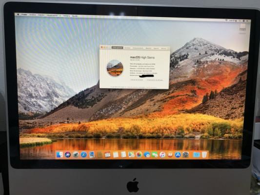 """iMac 8.1, 24"""". 2,8GHz/4GB/480GB SSD"""