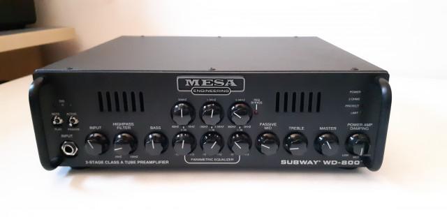 Cabezal Bajo MESA BOOGIE SUBWAY WD-800. Híbrido