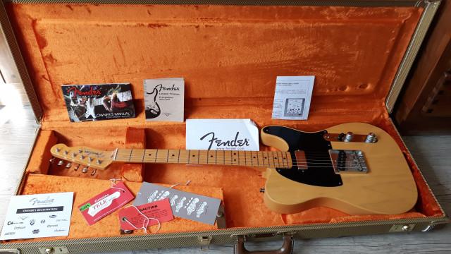 Fender Telecaster Vintage Hot Rod 52 - Butterscotch Blonde