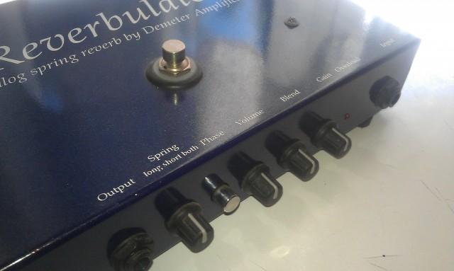 Demeter Reverbulator - Analog Spring Reverb