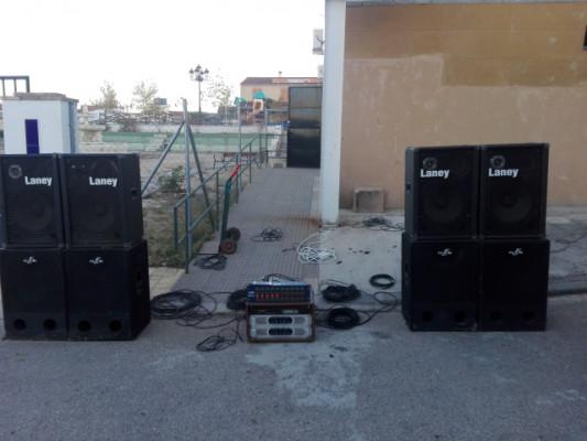 equipo sonido de 4000rms