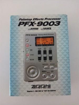 o cambio: ZOOM PFX9003 multifx