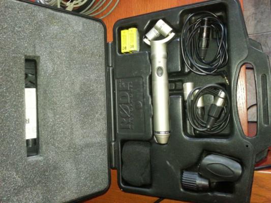 Rode NT4 micrófono estéreo XY