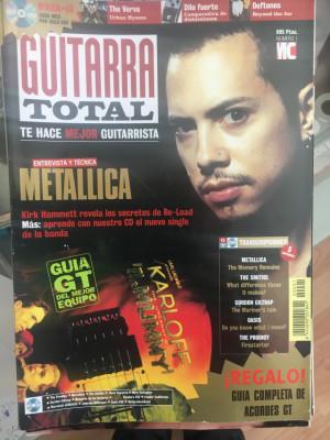 Revistas guitarra total /total guitar y fender frontline