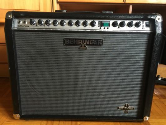 Amplificador Behringer ultratwin GX210