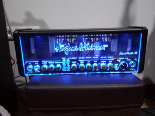 Hughes&Kettner Grandmeister 36 Head + controlador midi + cables midi7pin