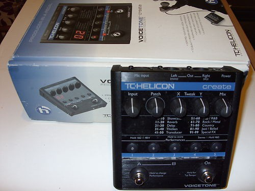 tc helicon voice tone crate