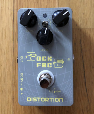 Pedal Rock Face Distortion