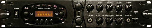 Bajistas, POD Pro XT Bass rack (el negro).