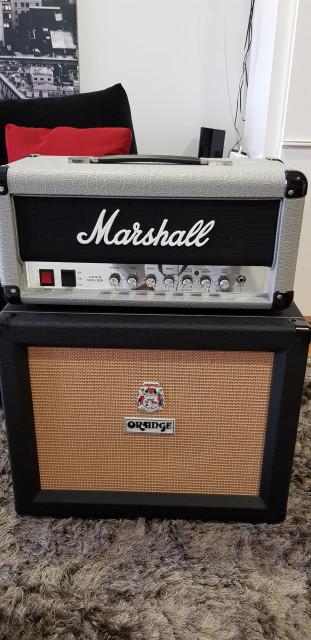 Marshall mini jubilee y pantalla orange