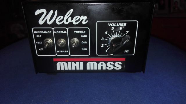 Atenuador Weber Mini mass 50W (Reservado)