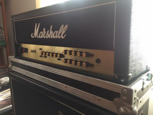 Marshall jmv205h+flightcase+válvulas nuevas (Envío incluido)