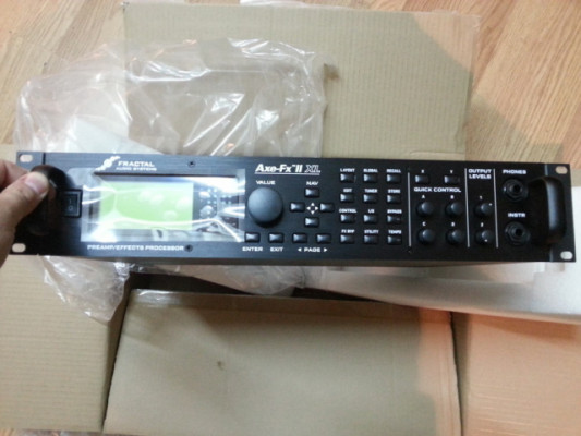 Fractal Audio Axe FX XL por guitarra de 7/8 cuerdas