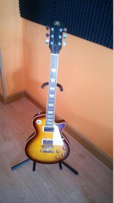 Guitarra Sx Tipo Les Paul Nueva