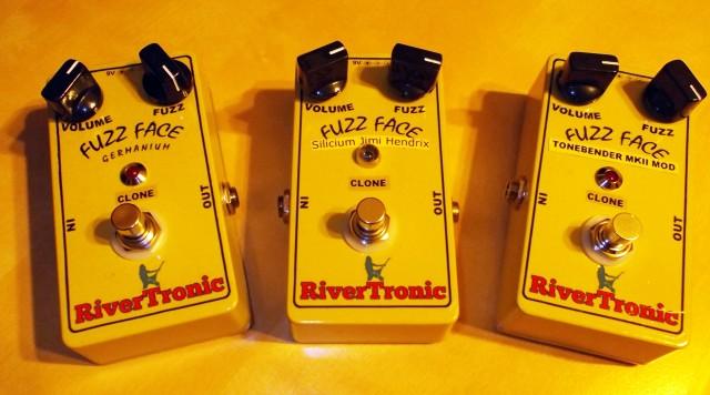 Pedal efecto guitarra eléctrica Fuzz Face varios modelos