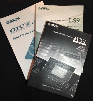 Manuales Yamaha M7CL / LS9 / 01v96 v2